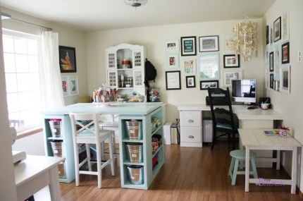 Sewing Craft Room Tour at beingBrook