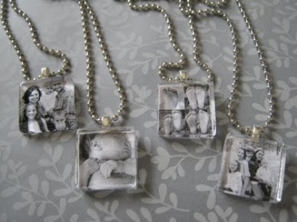 Make Your Own Photo Pendants