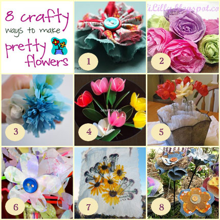8 Spring Flower Crafts