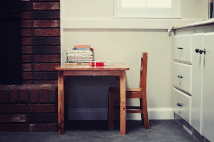 Child's Nook Table