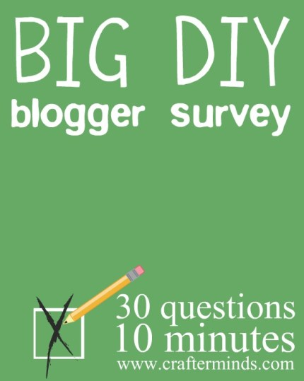 DIY and Craft Blogger Survey