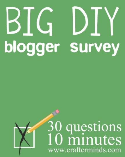 DIY and Craft Blogger Survey