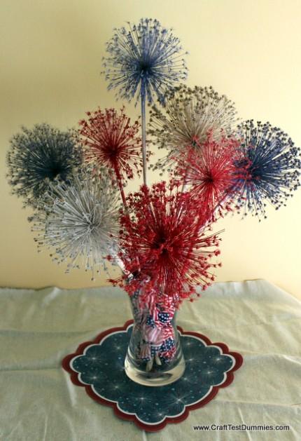 Allium Fireworks Centerpiece