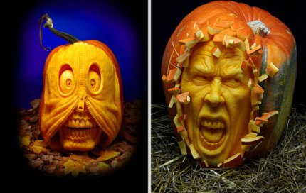 Villafane Studios: Amazing Pumpkin Carvings