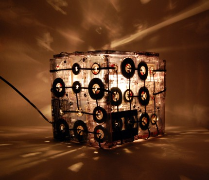 Cassette Tape Pendant Light