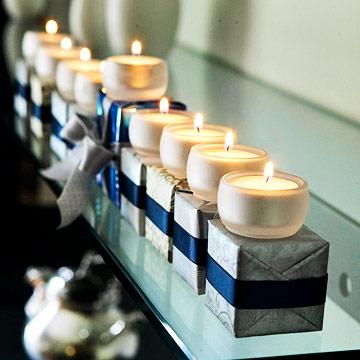 Hanukkah Candle Holders
