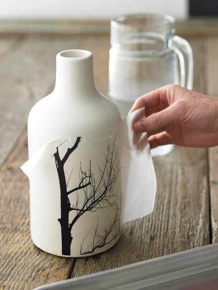 Transfer Photo Images to a Vase