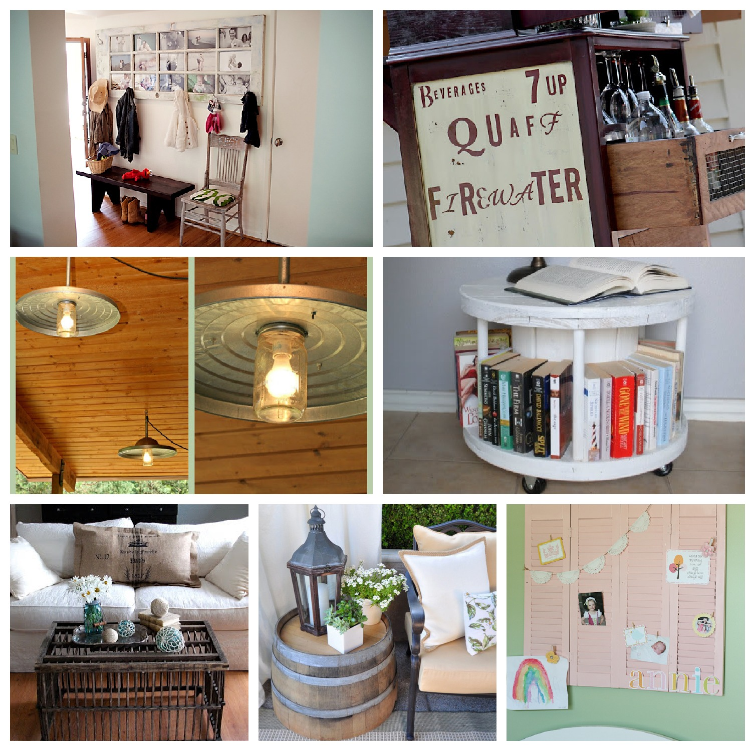 Craft projects for the home
