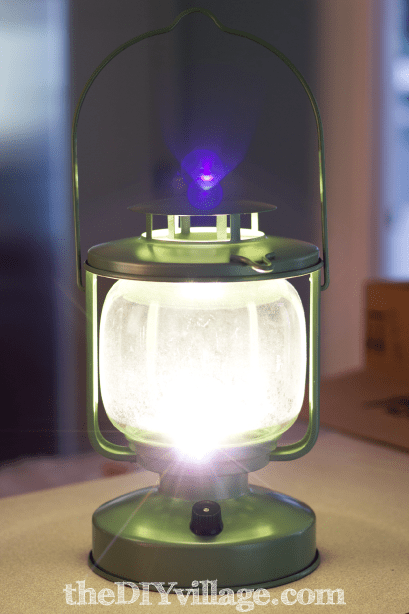 Tealight Lantern Goes Cordless