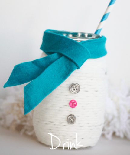 Cute Snowman Jar