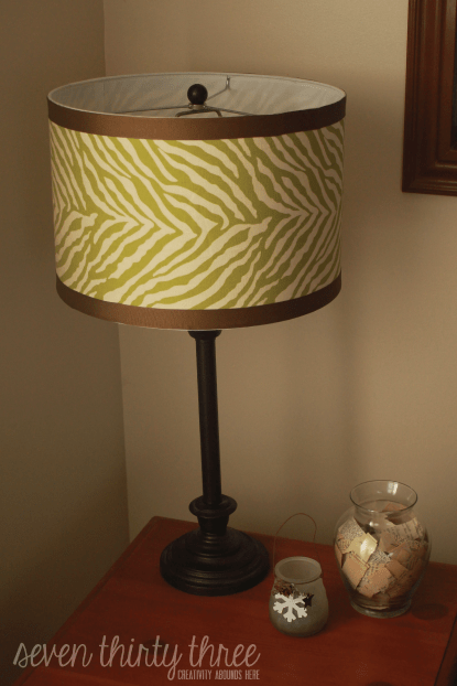 Easy Drum Shade Cover Up