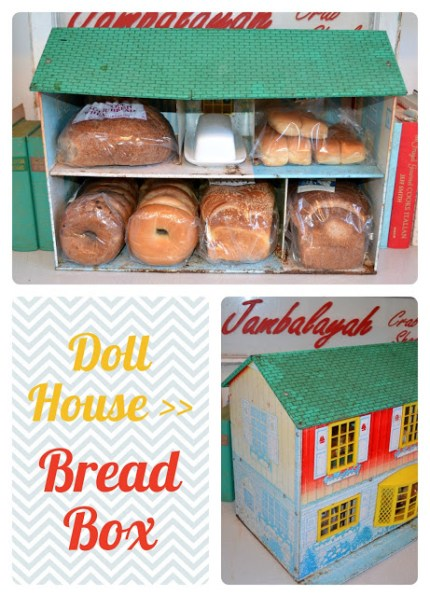 Vintage Dollhouse Bread Box
