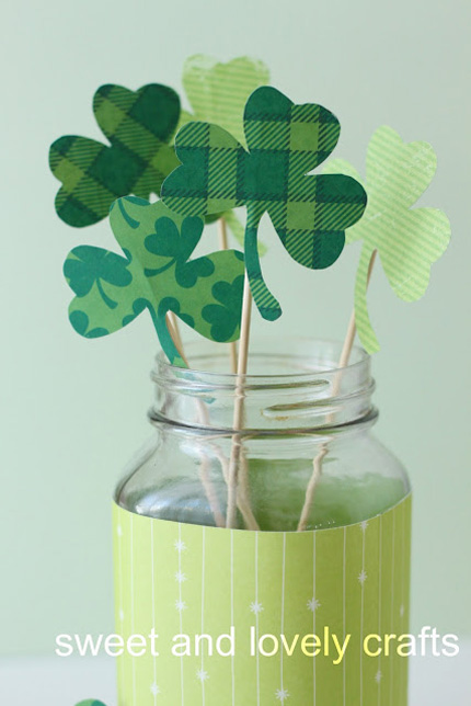 15 Shamrock Crafts for St. Patrick's Day @craftgossip
