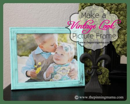 diy-vintage-picture-frame