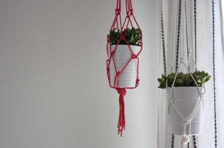 diy-rope-planters