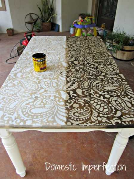 stenciled-table