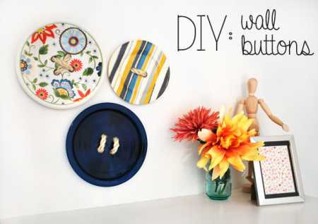DIY-Wall-Button-Art
