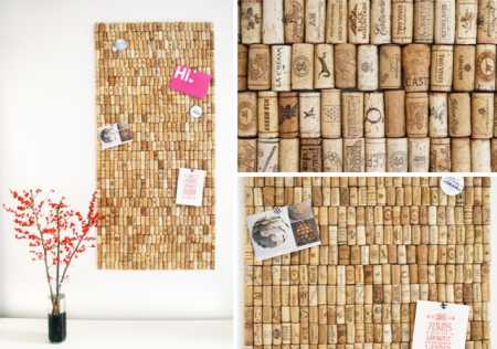 recycled-cork-board-collage