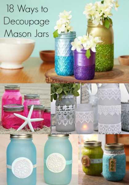 18-unique-ways-to-decoupage-mason-jars