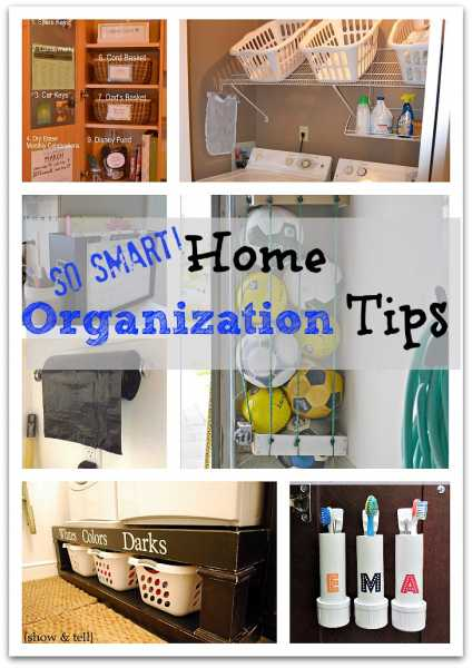 Home-Organization-Tips