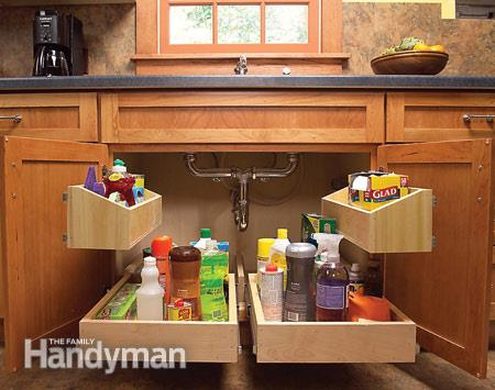 Pull Out Under Sink Drawers