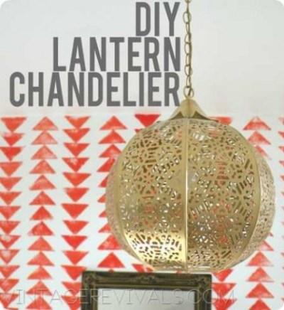 DIY Lantern Chandelier copy[4]