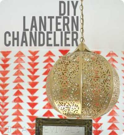 DIY Lantern Chandelier copy[4]