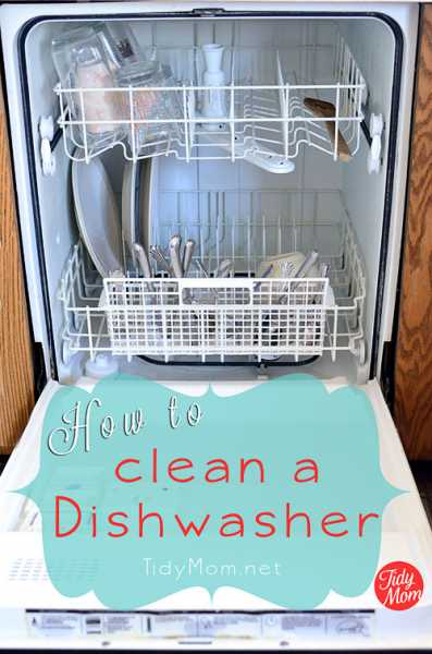 Cleaning Your Dishwasher 101