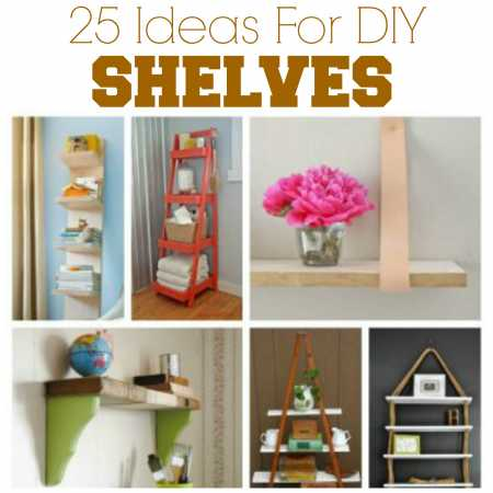 25 Great DIY Shelving Ideas Home And Garden