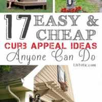 17 Amazingly Easy and Inexpensive Curb Appeal DIY's