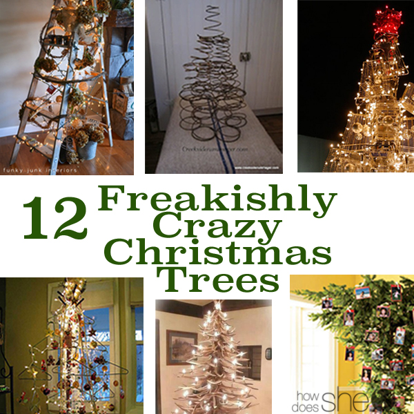 Command Strips Christmas Tree: Unique And Crazy Christmas Trees