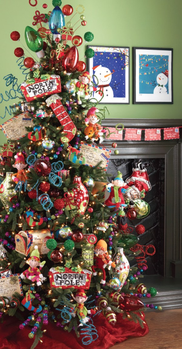 8 whimsical christmas trees home and garden for Whimsical decorations home