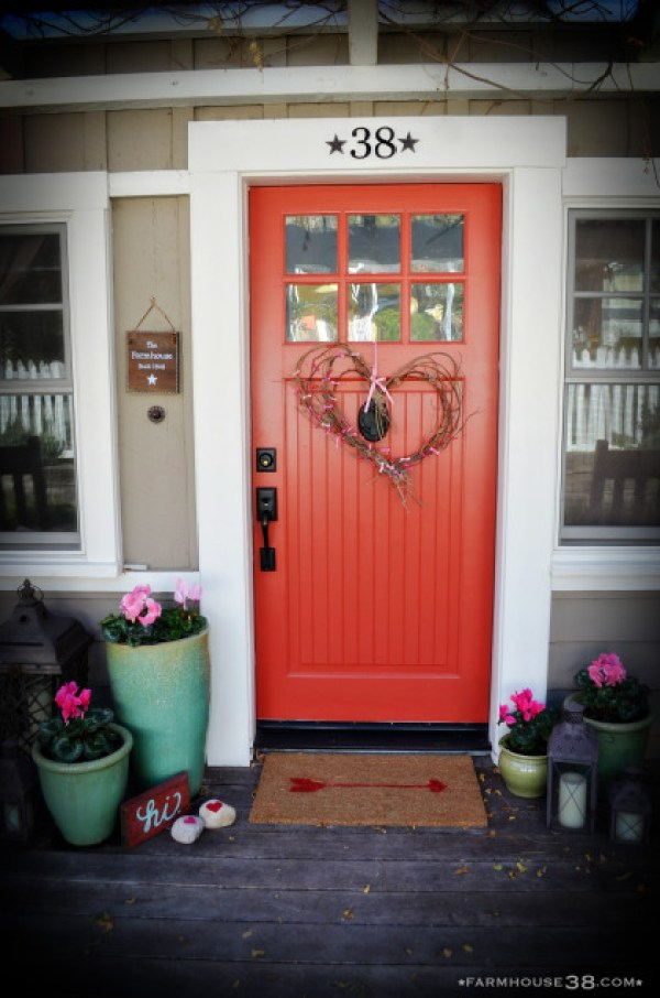 8 Front Porch Valentine Decor Ideas Home And Garden