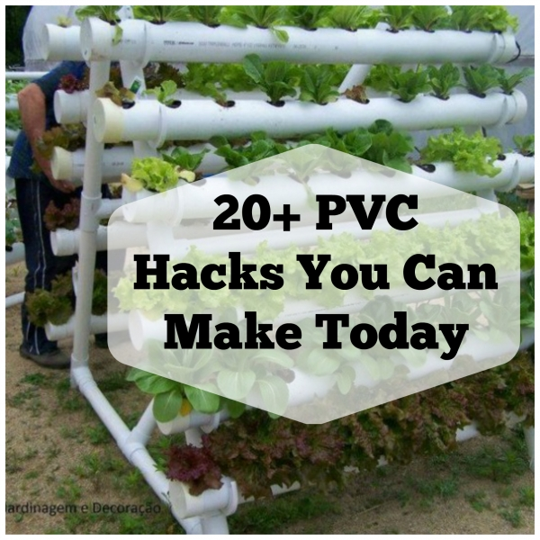 20 pvc hacks you can diy home and garden for Pvc pipe garden projects
