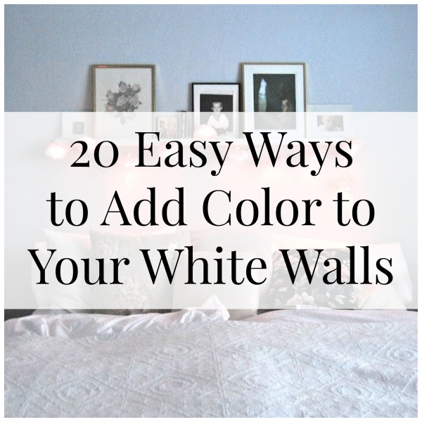 how to add color to a white kitchen easy ways to add color to your white walls craft gossip 9684