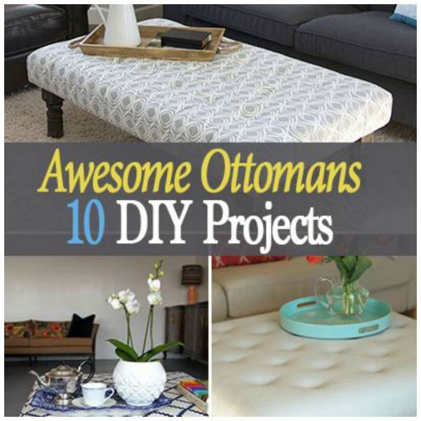 10 Ways To Make A Beautiful Ottoman Home And Garden