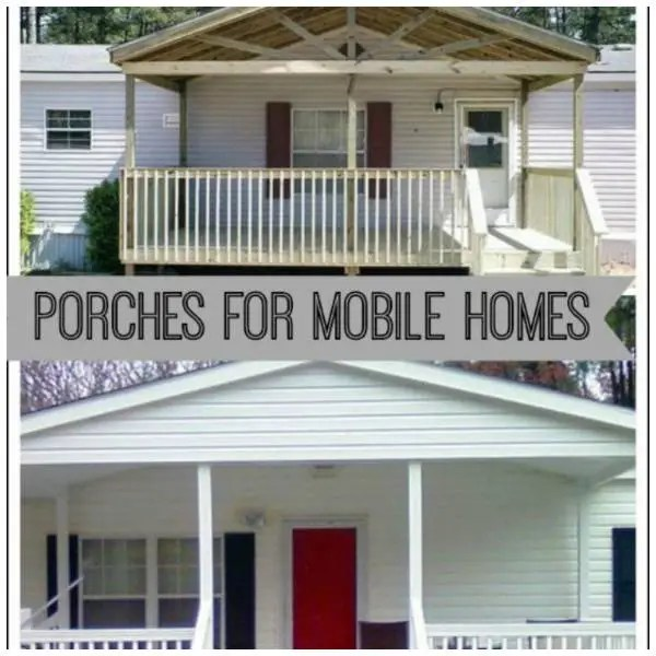 Mobilehome Decorating: 9 Beautiful Manufactured Home Porch Ideas Home And Garden