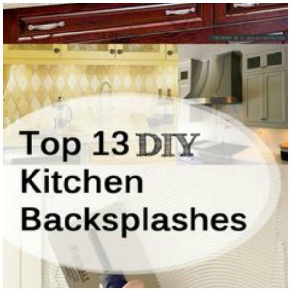 Popular A kitchen backsplash is a great way to add a little character to your home and it just so happens to be one of the easiest DIY projects you can do