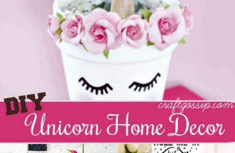 7 DIY Unicorn Home Decor Crafts