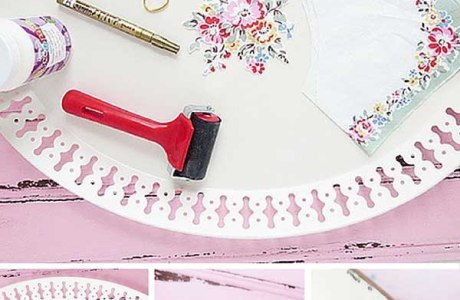 DIY Decoupage Tray Hack