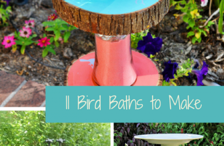 Make Your Own Bird Bath