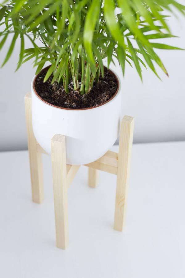 DIY Mid-Century Plant Pot