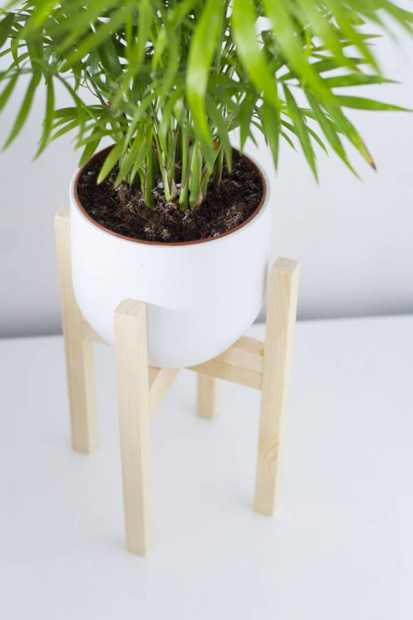 Diy Mid Century Plant Pot Home And Garden
