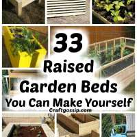 33 DIY Raised Garden Beds You Can Make Yourself