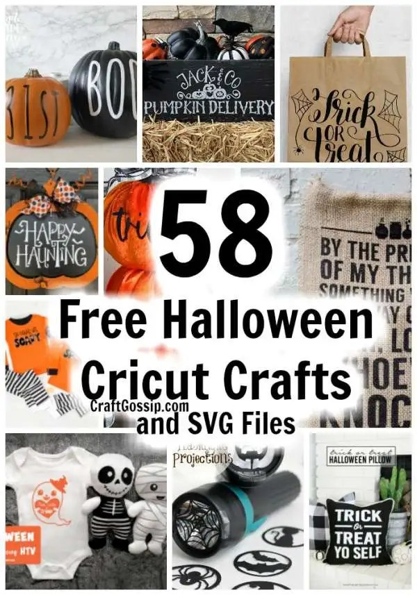 58 Free Cricut Svg S For Halloween Crafts Home And Garden