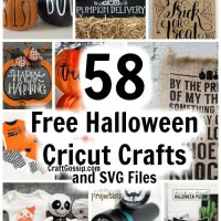 58 Free Cricut SVG's For Halloween Crafts