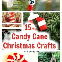 15 Christmas Candy Cane Crafts You Can Make For The Holidays