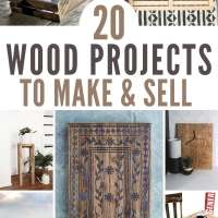 20 DIY Wood Projects To Make And Sell
