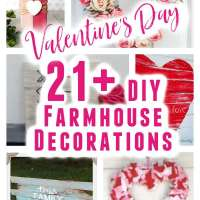 21+ Farmhouse Styled Valentine's Day Projects You Can Make