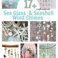 17 Wind Chimes You Can Make With Seashells And Sea Glass